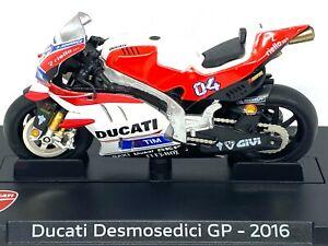 1:24 scale Altaya Ducati Desmosedici Moto GP Bike - A Dovizioso 2016 Diecast