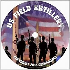 Field Artillery Journal 493 Issue DVD Army Book Dui War Crest Battalion Unit War