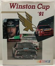 Winston Cup '91 NASCAR Hardcover Book With Slipcover