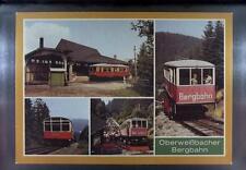 CPA Germany Lichtenhain Bergbahn Mountain Railway Train Zug Eisenbahn Tram k1428