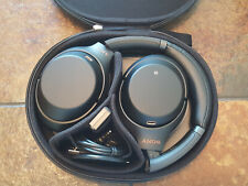 Sony WH-1000XM3 Wireless Noise Cancelling Headphones -Black WH1000XM3 *NEW* #36