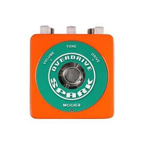 MOOER Audio SPARK OVERDRIVE True bypass 80's vintage overdrive tone perfectly