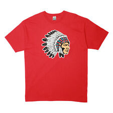Mens Hustle Gang Chief 32 T-shirt True Red Size XL