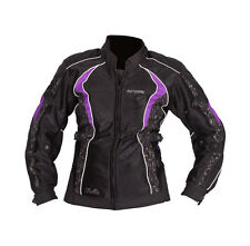 Ladies Motodry Bella Jacket Summer Cool Mesh Womens Motorbike Black Purple $199