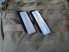 3M reflective patch for tactical gear Molle loops. 1 x 4 inches. 2 pcs.