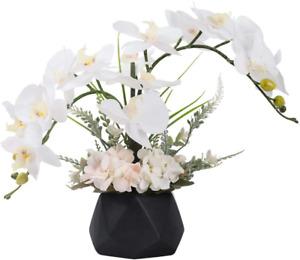 arreglos de flores artificiales orquideas mesa decoraciones para sala hogar