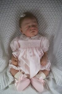 """RARE LIMITED EDITION """"POPPY"""" REBORN BABY BY ROMIE STRYDOM #148 OF 700 GIRL"""