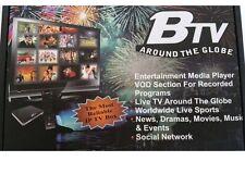 BTV Box NEW ANDROID 5G IPTV BTV-1000 HD+ Hindi, Urdu, BANGLA / DECEMBER -2017