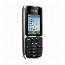 Nokia C2-01 - Black (Unlocked) Mobile Phone 3G Cheap bar phones New Condition