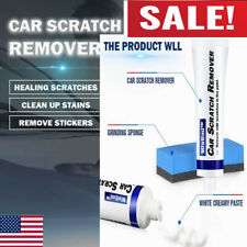 New Brush Car Scratch Remover Paste Scratch Eraser Removing Defect with Sponges*