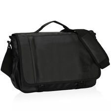 "Waterproof Mens Medium Messenger Shoulder Bag Briefcase 15.6"" Laptop Bags Gift"