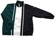 "Men's Vintage 80's Nike Light Green Black Jacket Retro 48"" - 50"" Chest"