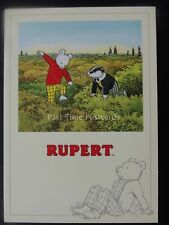Rupert Bear RUPERT AND BILL IN THE TREE TOP c1992 by Reflex Marketing PC775