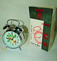 Vintage Alarm Clock Animated Pecking Chicken Hen, Alarm BAHR Old New With Box #4