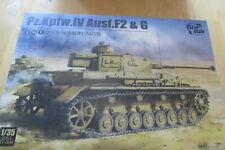 BORDER MODEL ,BT-004 Pz.Kpfw.IV Ausf.F.2 & G (2in1) , 1:35