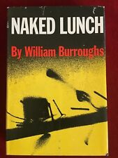 The Naked Lunch ~ First Edition ~ William Burroughs ~ 3rd Printing ~ 1959 HBDJ