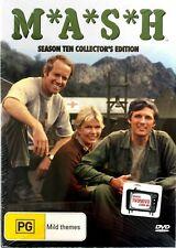 M*A*S*H Season 10 (1982) DVD Box 3-Disc Set-Alan Alda-Mike Farrell-Loretta Swit