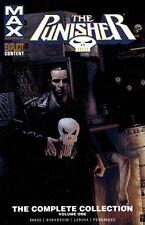 PUNISHER MAX: COMPLETE COLLECTION VOL #1 TPB Marvel Comics Garth Ennis TP 416 PG