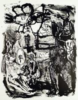 Untitled, 1991. Lithographie von Werner LIEBMANN (*1951 D), handsigniert