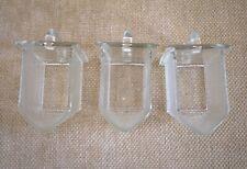 Glasschütten Poncet 3 Vorratsgefäße 10x5,5x6 cm Ersatzteil Buffet Küche