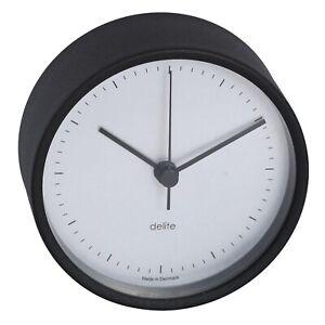 Clausen Wall Clocks Bootsport Nautica Maritim Ship Clock Matte Black 100mm