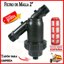 "Filtro de malla 63mm para sistemas de riego Irritec 2"" Filtro goteo filter riego"
