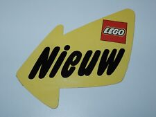 LEGO RETAIL STORE DISPLAY SHELF TALKER DANGLER 1980s HOLLAND HTF