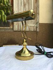 Vintage Lampe De Bureau De Banquier Lampe D'architecte