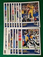2019 Score Los Angeles Rams Team Set, (2014) Aaron Donald RC 16 Cards 2 RC