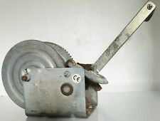 More details for dutton-lainson hand winch - tuffplate finish - single speed - 1,800 lbs