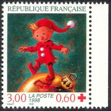France 1998 Red Cross Fund/Elf/Christmas/Greetings/Welfare/Animation 1v (n42998)