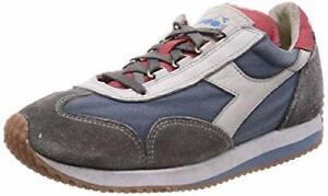 Diadora - Heritage Scarpa Sneaker Unisex EQUIPE H DIRTY STONE WASH EVO Mare di
