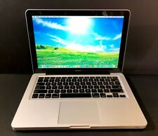 Apple Macbook 13 Pre-Retina / UPGRADED 8GB + 120GB SSD / 1 Year Warranty