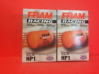 HP1 filter LOT OF 2 Engine Oil Filter High Performance Spin-on Fram HP1 FOR FORD