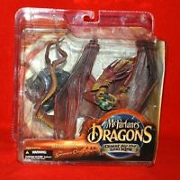 Mcfarlane's Dragons Quest for the Lost King Sorcerers Clan Dragon Series 1 NEW