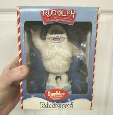 New listing Rudolph Red-Nosed Reindeer Bumbles Abominable Snowman Statue Figure Unused