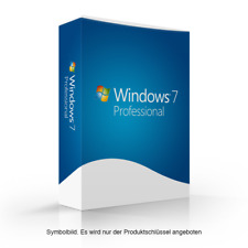 MS Microsoft Windows 7 Professional Angebot 32 bit 64 bit Key Win ESD