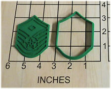 US Air Force Master First Sergeant Cookie Cutter and Stamp #1059