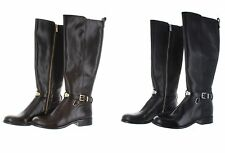 Michael Kors Arley Tall Riding Leather Boots - Wide Calf - Select size/color