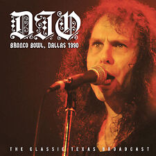 DIO New Sealed 2019 UNRELEASED LIVE 1990 DALLAS CONCERT CD