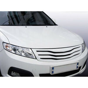 Front Hood Grill White UD 1p For 09 10 Kia Optima AX Magentis