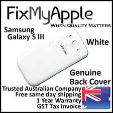 Samsung Galaxy S III S3 i9300 White Back Rear Cover Battery Housing Door Case 3G