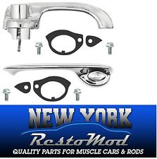 70 71 72 Chevelle Outside Door Handles Exterior New Chrome Complete SPECIAL