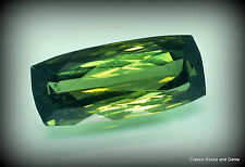 Verdelite Tourmaline IF Gemstone 8.40ct Namibia Verdelith Turmalin Edelstein IF