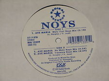 "NOYS ave maria 12"" RECORD TECHNO"