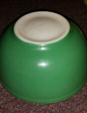 Vintage PYREX PRIMARY GREEN Nesting Mixing Bowl 403 2 1/2  Old Trade Mark