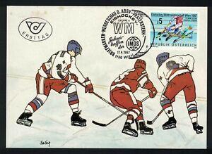 MK Österreich 1987, Eishockey-WM 1987 in Wien