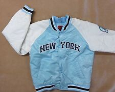 Southpole 21 Boys New York Winter Blue White Quilted Jacket XL Coat FAST SHIPPER