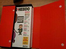 Boîte collector Charlie hebdo numéro 681 a 732 dont le 712 année 2006