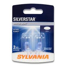 Sylvania SilverStar - 2 Pack - 2825ST Light Bulb Dome License Map Trunk kb